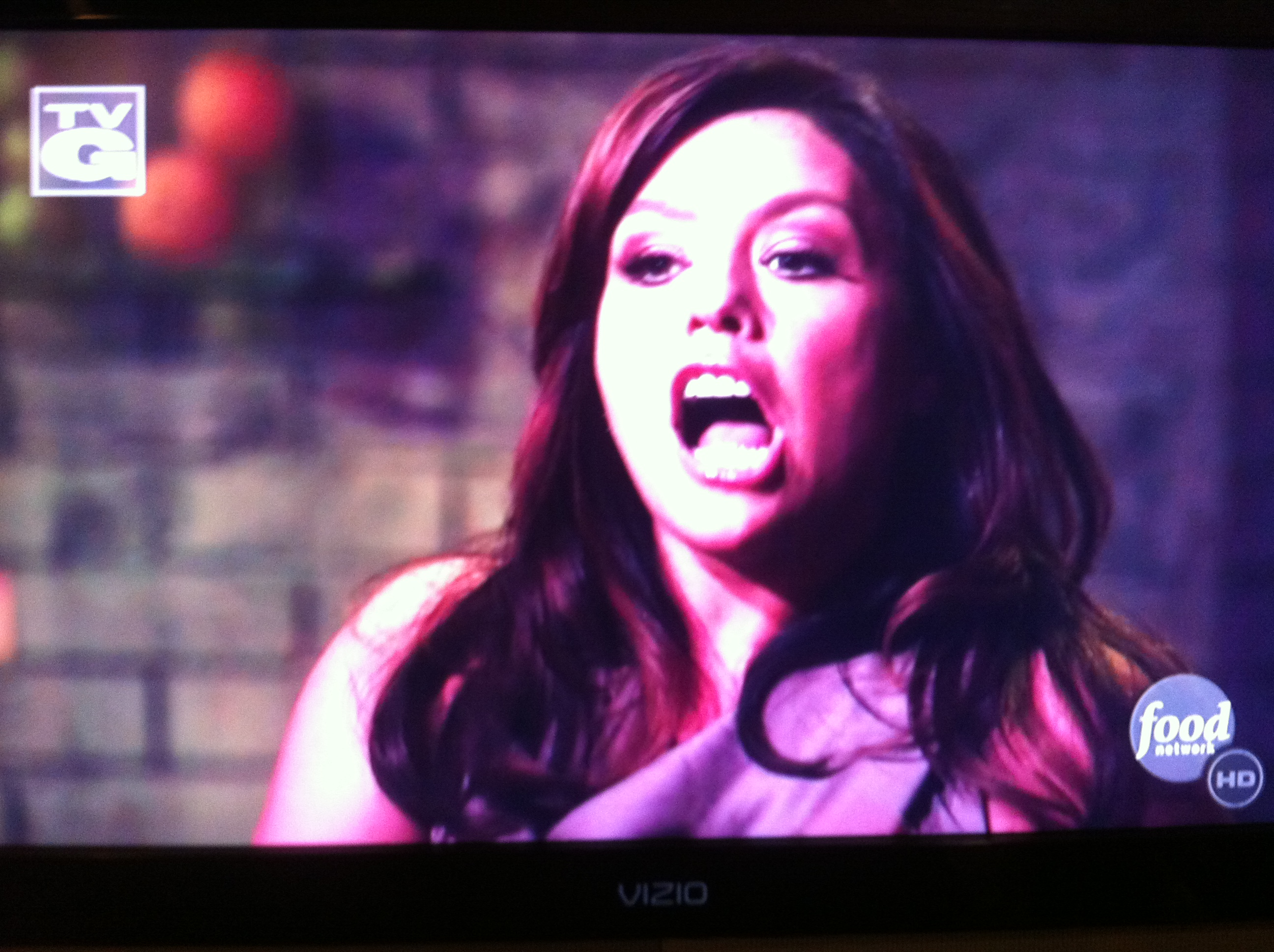 rachael ray hot mouth