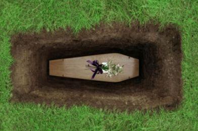 Coffin-in-grave